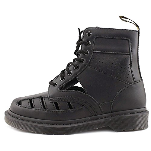 Boots Dr 1460 Cut Out Leather Casual Martens Unisex Black Zqr0Z
