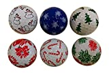 Christmas Holiday Mix Golf Balls (6 Pack)