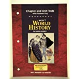World History : The Human Journey - Chapter and Unit Tests