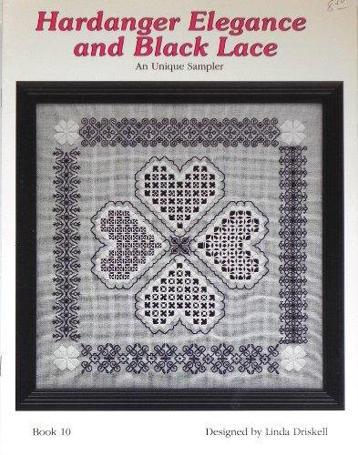 Hardanger Elegance and Black Lace: An Unique Sampler