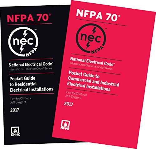 2017 NEC Pocket Guides 2-Volume Set -- Residential, and Commercial and Industrial Electrical Installations (National Electrical Code)