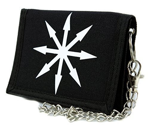 (Chaos Star Symbol of Eight Tri-fold Wallet Warhammer Alternative Clothing)