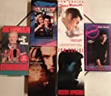 Tom Cruise Classics VHS Tape Set - Coctail, the Color of Money, Top Gun, Jerry Maguire, Mission Impossible, & Interview with a Vampire