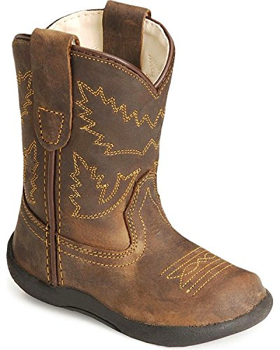 Old West Toddler-Boys' Crazy Horse Boot Crazyhorse 6 D(M) US