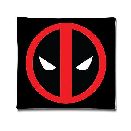 Buena calidad Comic Deadpool Vector manta almohadas funda
