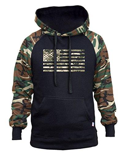 Us Flag Mens Hoodie - 7