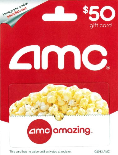 (AMC Theatre Gift Card $50)