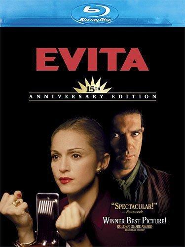 Blu-ray : Evita: 15th Anniversary Edition (Anniversary Edition, Widescreen, , Dubbed)