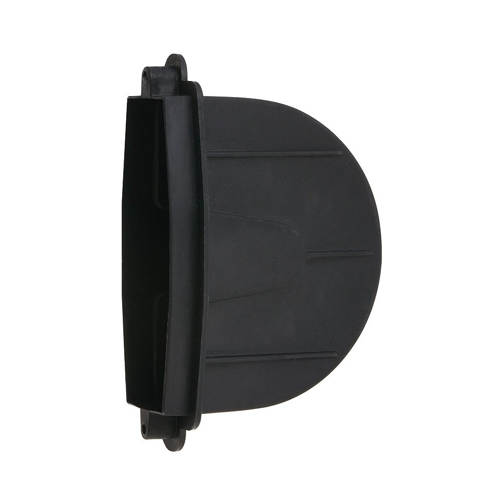 Negro WOLFPACK Cajetin Persiana para Recogedor Peque/ño 16x6x10 cm
