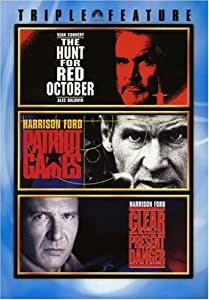 Jack Ryan 3 Pack (The Hunt for Red October / Patriot Games / Clear and Present Danger)