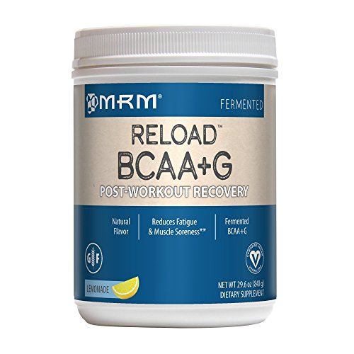 BCAA+G Powder, Ultimate Muscle Post-Workout Recovery Formula, Supports Muscle Size & Strength, Recovery, Reduces Fatigue & Muscle Sorenessa (Lemonade, 29.6 Ounces) ()