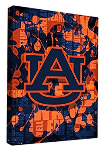 Amazon.com : Auburn University Tigers Canvas Wall Art Fight Song ...