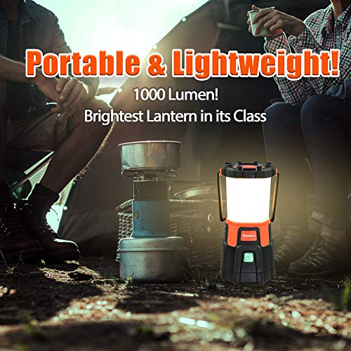 Blazin' Fireball | Brightest Lanterns Battery Powered | LED Hurricane Lantern | Emergency, Storm, Camping Torch | Battery Operated Lights | 1000 Lumen Lantern by Blazin' Bison (Image #4)