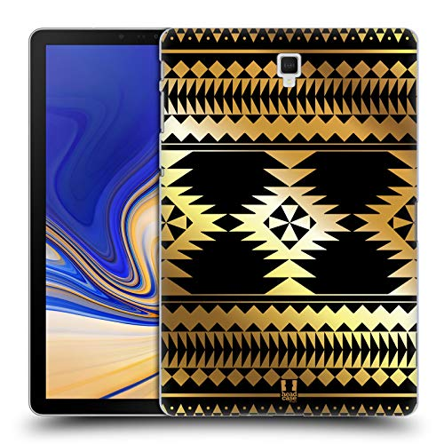 - Head Case Designs Cross Gold Aztec Prints Hard Back Case for Samsung Galaxy Tab S4 10.5 (2018)