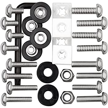 Cruiser Accessories License Plate Frame Fasteners Fasteners Anti-Theft 80733