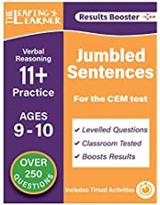 Verbal Reasoning: Jumbled Sentences 11 + Practice: Ages 9-10 for the CEM Test