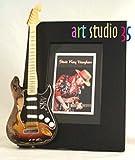 STEVIE RAY VAUGHAN Miniature Guitar Photo Frame SRV