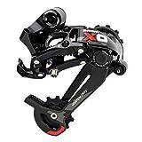 SRAM X0 Type 2.1 10 Speed Rear Derailleur, Short Cage, Black/Red