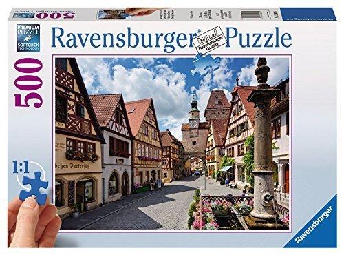 Ravensburger Rothenburg ob der Tauber - Bavaria Jigsaw Puzzle (500 Piece)