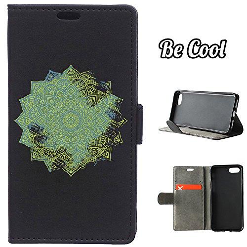 BeCool® - Housse étui [portefeuille] iPhone 7 Plus, [Fonction support], protège et s'adapte a la perfection a ton Smartphone. Elegan Wallet. Chat joue avec sa pelote de laine