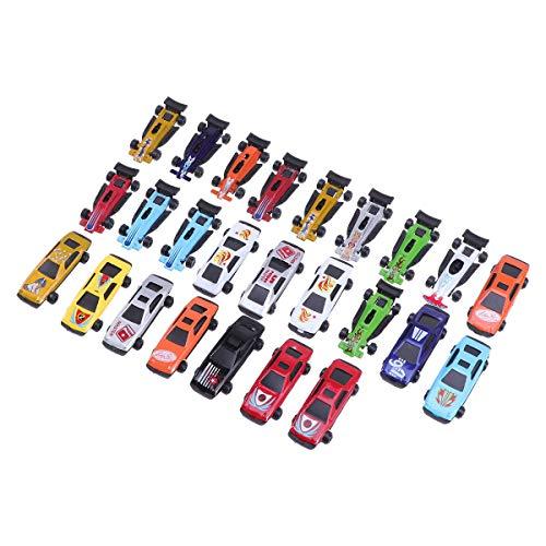 25 Pcs Mini Alloy Race Car Toys Assorted Toy Cars Set Model Cars Boys Girls Kids Party Favors