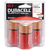 DURACELL Quantum With Powercheck 3 Pack D Cell Battery