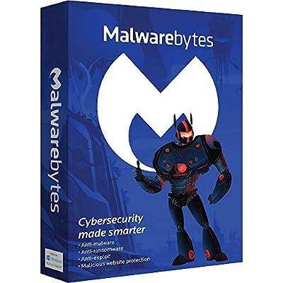 Malwarebytes 98214 3.0 Premium 1 Year 3 PC Security Program