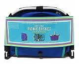 Picnic Basket Easy Fold Drawstring Top Light Weight