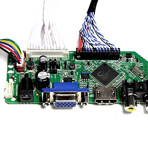 VSDISPLAY HDMI+VGA+CVBS+USB+RF+Audio LCD Motor Driver Board Controller Kit Work For 17'' 19'' LTM170EU LM190E02 1280X1024 4CCFL 30Pin LCD Panel by VSDISPLAY (Image #3)