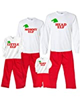 Family of Elves Matching Cotton Clothing Sets; Choose Adult or Kids