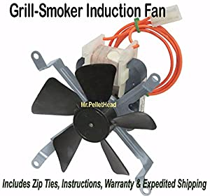 NEW Traeger Pellet Smoker Grill Induction Fan Motor [XP7850] OEM FAN209 KIT0019 made by  epic for PSP Traeger