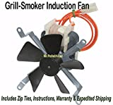 furnace induction motor - NEW Traeger Pellet Smoker Grill Induction Fan Motor [XP7850] OEM FAN209 KIT0019