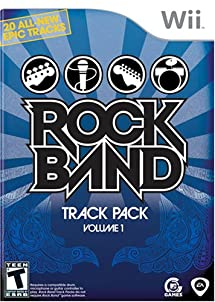 Rock Band Track Pack: Vol. 1 - Nintendo Wii
