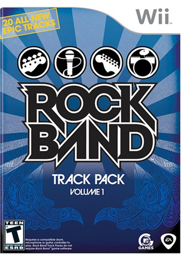 Price comparison product image Rock Band Track Pack: Vol. 1 - Nintendo Wii