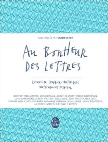 Livre Au bonheur des lettres pdf
