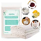 Cheesecloth, Grade 90, 36 Sq Feet,100% Pure/Natural/Unbleached Cheesecloth Fabric Cotton Washable and Reusable, Cheesecloth for Cooking-Nut Milk Bag, Food Filter/Strainer, Decorations