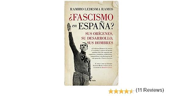 Fascismo en España? (Pensamiento político): Amazon.es: Ledesma Ramos, Ramiro: Libros