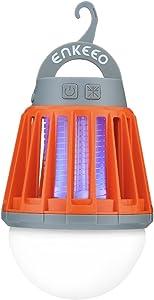 9. Enkeeo 2-in-1 Rechargeable Camping Lantern