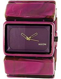 Nixon Women's Vega A726643 Purple Plastic Quartz Watch