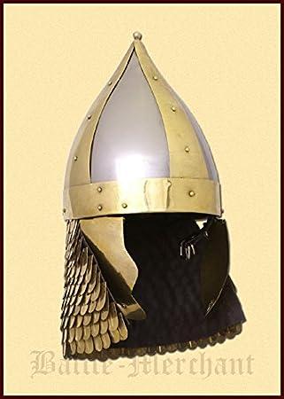 Romano arquero Pasador Casco Deko Casco schaukampftauglich Ritter Casco LARP Vikingo