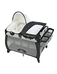 Graco Pack 'n Play Quick Connect Portable Napper Deluxe with Bassinet, McKinley BOBEBE Online Baby Store From New York to Miami and Los Angeles