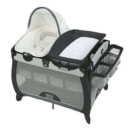 Graco Pack 'n Play Quick Connect Portable Napper Deluxe with Bassinet, McKinley by Graco