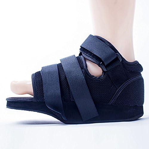 Vorfuß-Druckentlastungs-Schuh-Vorderfuß-Gewichts-Verlust-Schwarz-Schuh-Bruch Plaste Vorfuß-Bruch-Fixierung