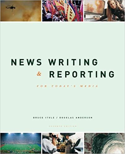 Book News Writing and Reporting for Today's Media