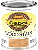 CabotStain 144-8125 QT Cabot 1 Quart Interior Oil Wood Stain, Early American