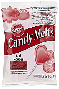 Wilton 2201-1365 Candy Melts Baking Tool, 12-Ounce, Red