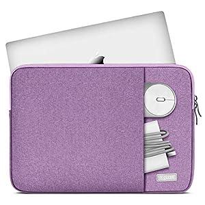 Laptop Sleeve 15.6 Inch,Egiant Water-Repellent Protective Fabric Notebook Bag Case Compatible F555LA MB168B,Aspire E15…