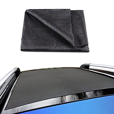 Life-Mate Car Roof Cargo Carrier Protective Mat Anti Slip Roof Rack Pad with Extra Padding for Cargo Storage Bags Roof Top Carriers.