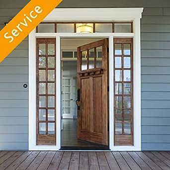 Deadbolt Installation   Wood Door