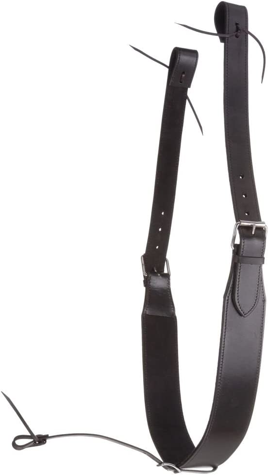 NEW Tack!!! LIGHT OIL Leather Heavy Duty Roper Style Breast Collar Made In USA!